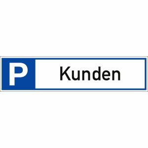 Parkplatzreservierer Kunden Kundenparkplatz-Schild