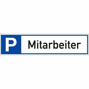 Parkplatzreservierer Mitarbeiter