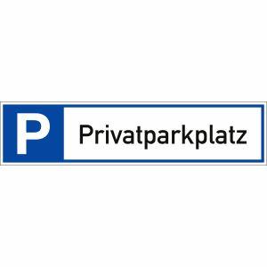 Parkplatzreservierer Privatparkplatz