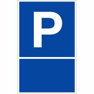 Parkplatzschild P selbst gestalten