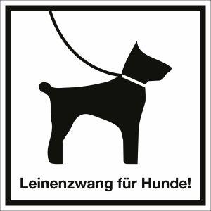 Leinenzwang für Hunde!