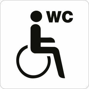 Piktogramm - WC behindertengerecht