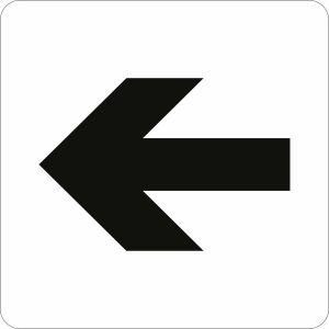 Piktogramm - Richtungspfeil