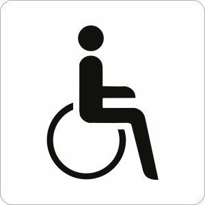 Piktogramm - Rollstuhlfahrer