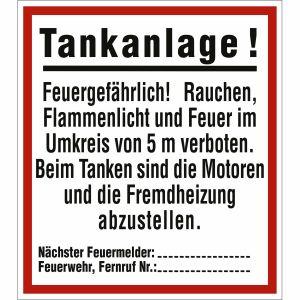 Tankanlage!