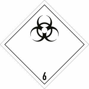 Gefahrgutetiketten Klasse 6.2
