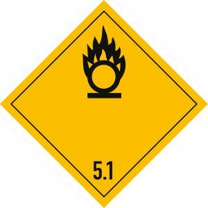 Gefahrgutetiketten Klasse 5.1