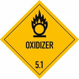 Gefahrgutetiketten Klasse 5.1 - Oxidizer