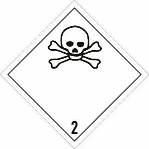 Gefahrgutetiketten Klasse 2, Unterklasse 2.3