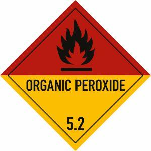 Gefahrgutetiketten Klasse 5.2  -  Organic peroxide