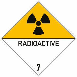 Gefahrgutetiketten Klasse 7 - Radioaktive Stoffe