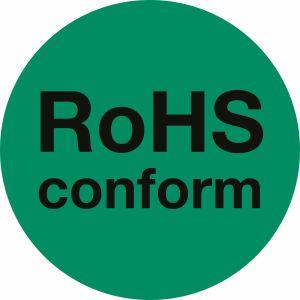 RoHS-Kennzeichen RoHS conform