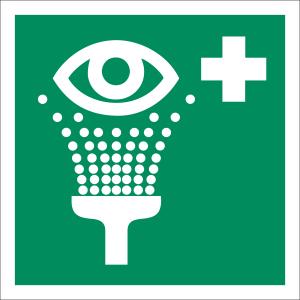 Augenspüleinrichtung nach ISO 7010 (E 011)