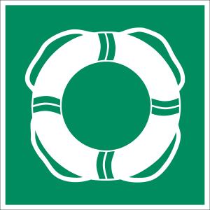 Öffentliche Rettungsausrüstung nach ASR A 1.3 (2013), WSE001