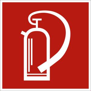 Feuerlöscher nach ASR A 1.3 (2007), (BGV A8 F 05)