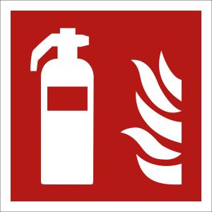 Feuerlöscher nach ISO 7010 (F 001)