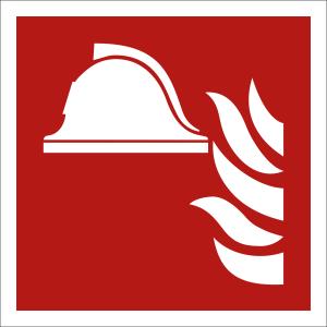 Mittel und Geräte zur Brandbekämpfung nach ISO 7010 (F 004)