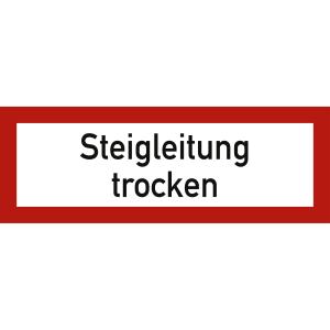 Steigleitung trocken nach DIN 4066