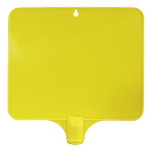 Schilderaufsätze für Warnkegel - Rechteckiges Schild