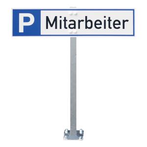 Stahlspieß für Parkplatzreservierer - zum Aufdübeln