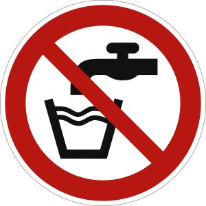 Kein Trinkwasser nach ISO 7010 (P 005)