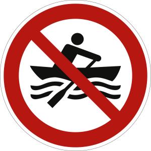 Muskelbetriebene Boote verboten nach ISO 20712-1 (WSP 008)