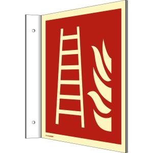 Fahnenschild Feuerleiter nach DIN EN ISO 7010