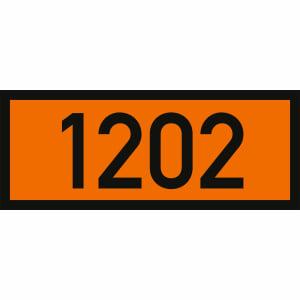 UN-Label mit UN-Nummer