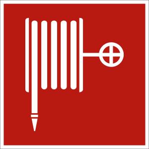 Wandhydrant nach ASR A 1.3 (2007), (BGV A8 F 03)