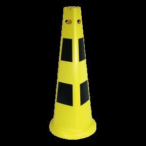Warnkegel gelb/schwarz