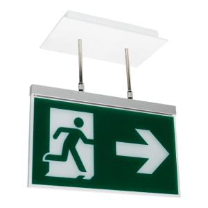 Rettungszeichenleuchte PARIS Maxi (Universalaufbau), 7L-Schutzlicht