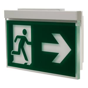 Rettungszeichenleuchte PARIS (Universalaufbau), 7L-Schutzlicht