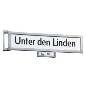 Gesamtansicht für Berliner Straßennamenschild
