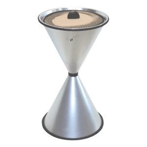 Standascher DIABOLO LIGHT mit Ascherschale und Sieb