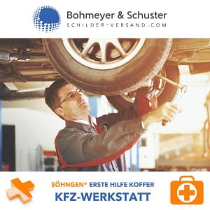 Erste Hilfe Koffer Kfz-Reparatur DIN 13157 / ASR A4.3 - Söhngen® DIREKT
