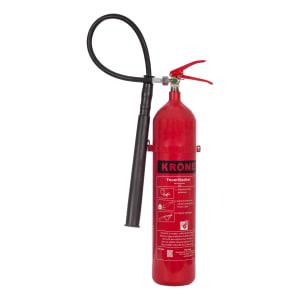Krone CO²-Feuerlöscher, 2 kg / 5 kg
