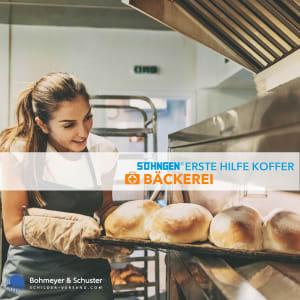Erste Hilfe Koffer Bäckerei DIN 13157 / ASR A4.3 - Söhngen® DIREKT