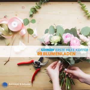 Erste Hilfe Koffer Blumenladen DIN 13157 / ASR A4.3 - Söhngen® DIREKT