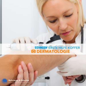 Medizinischer Notfallkoffer Dermatologie - Söhngen®