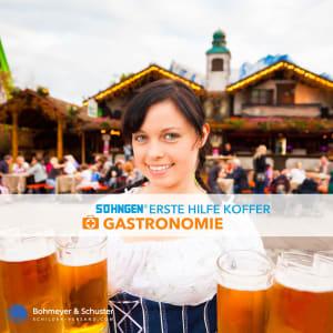 Erste Hilfe Koffer Gastronomie DIN 13157 / ASR A4.3 - Söhngen® DIREKT