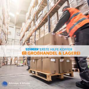 Erste-Hilfe-Koffer Großhandel und Lagerei DIN 13157 / ASR A4.3 - Söhngen® Beruf Spezial