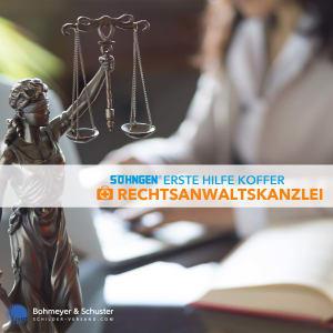 Erste Hilfe Koffer Rechtsanwalt DIN 13157 / ASR A4.3 - Söhngen® DIREKT