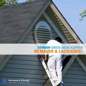 Erste Hilfe Koffer Malerbetrieb DIN 13157 / ASR A4.3 - Söhngen® DIREKT