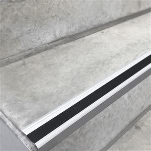 Stufenmarkierungsprofil aus Aluminium