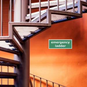 Emergency ladder / Notleiter