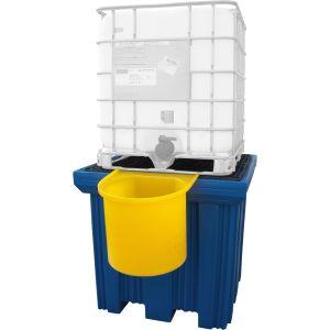 Abfüllbehälter für Auffangwanne aus PE für 1000-Liter-Behälter