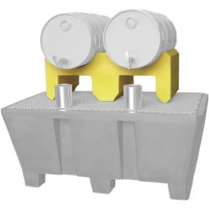 Fassbock aus Polyethylen für 60-Liter und 200-Liter Fässer