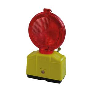 LED Baustellen-Warnleuchte, Ø 180 mm, zweiseitig, gelb oder rot