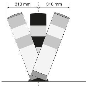 Rammschutzpoller WACHTWERK X® SWING aus Stahl - Stärke L Ø 159 mm
