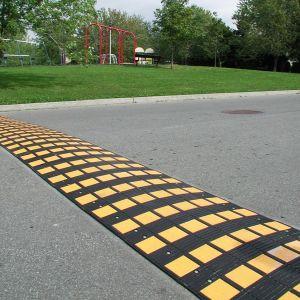Fahrbahnschwelle SAFE RIDE - SET oder einzeln - Tragkraft 40 t